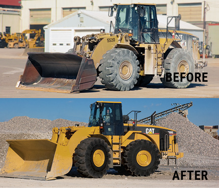 Before and After Dozers